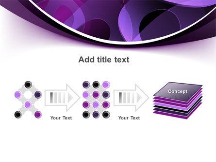 Purple Circles PowerPoint Template Slide 9