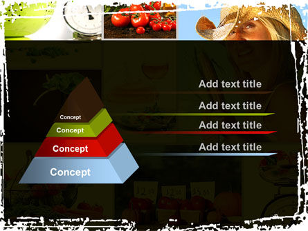 Healthy Food Basket PowerPoint Template Slide 12