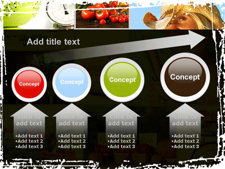 Healthy Food Basket PowerPoint Template Slide 13