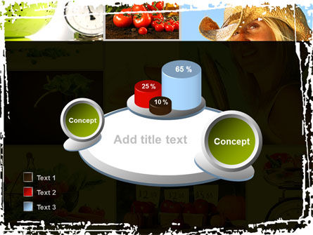 Healthy Food Basket PowerPoint Template Slide 16