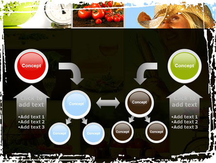 Healthy Food Basket PowerPoint Template Slide 19