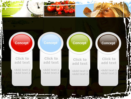 Healthy Food Basket PowerPoint Template Slide 5