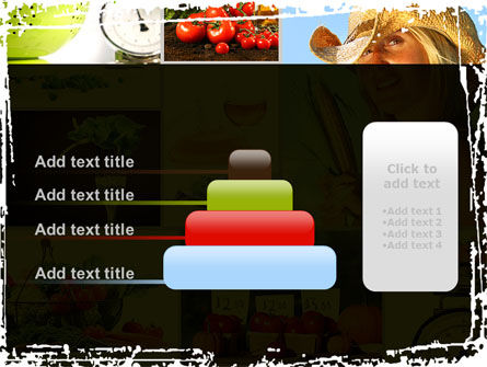 Healthy Food Basket PowerPoint Template Slide 8