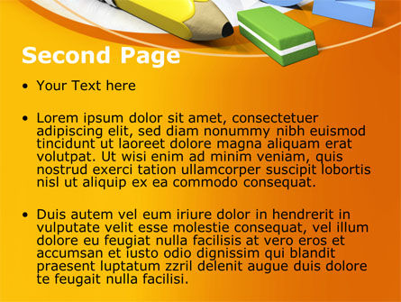 Back 2 School PowerPoint Template Slide 2