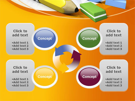 Back 2 School PowerPoint Template Slide 9