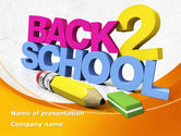 Education & Training: Back 2 School PowerPoint Template #08735