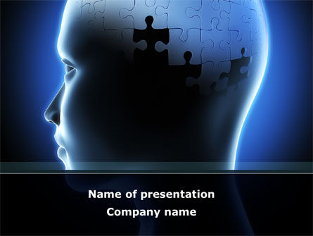 Last Puzzle PowerPoint Template, 08737, Consulting — PoweredTemplate.com