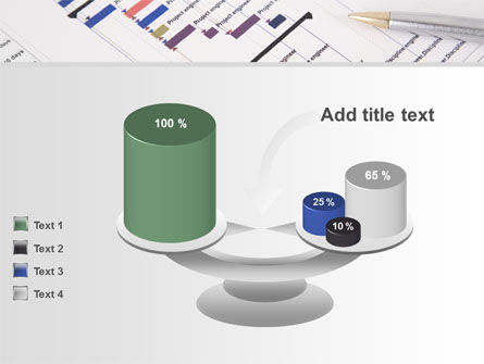 Gantt Project Diagram PowerPoint Template Slide 10