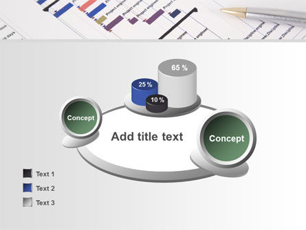 Gantt Project Diagram PowerPoint Template Slide 16