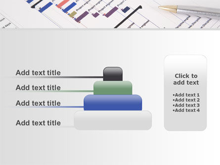 Gantt Project Diagram PowerPoint Template Slide 8