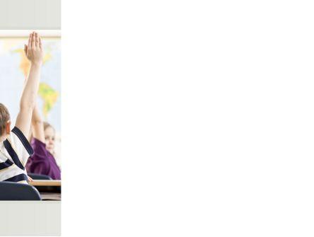 New Classes PowerPoint Template, Slide 3, 08743, Education & Training — PoweredTemplate.com