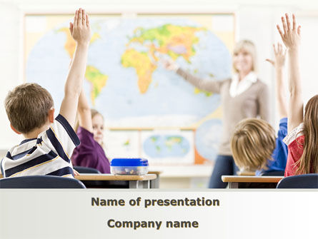 New Classes PowerPoint Template, 08743, Education & Training — PoweredTemplate.com