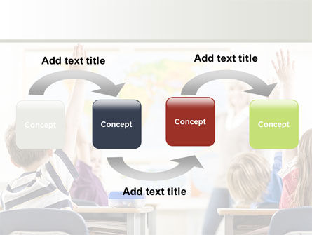New Classes PowerPoint Template, Slide 4, 08743, Education & Training — PoweredTemplate.com
