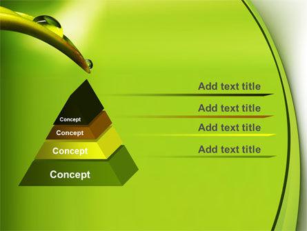 Flower Dew PowerPoint Template, Slide 4, 08745, Nature & Environment — PoweredTemplate.com