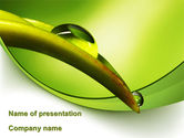 Nature & Environment: Dauw Bloem PowerPoint Template #08745