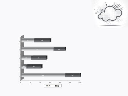 Stylized Cloud PowerPoint Template Slide 11