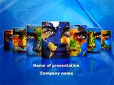 Global: 人間の多様性 - PowerPointテンプレート #08747