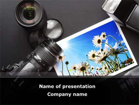 Careers/Industry: Summer Photo PowerPoint Template #08748