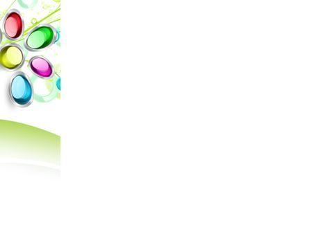 Abstract Flowers PowerPoint Template, Slide 3, 08752, Art & Entertainment — PoweredTemplate.com