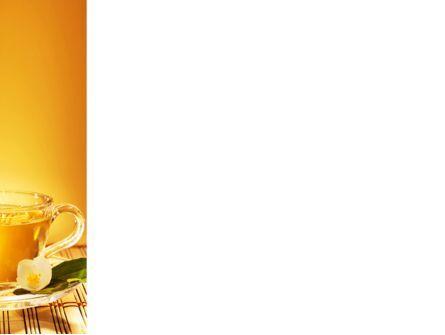 Jasmine Tea PowerPoint Template, Slide 3, 08754, Food & Beverage — PoweredTemplate.com