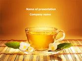 Food & Beverage: Jasmine Tea PowerPoint Template #08754