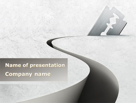Ockham's Razor PowerPoint Template, 08756, Business Concepts — PoweredTemplate.com