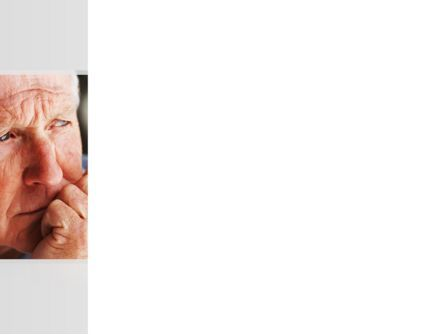 Old Man PowerPoint Template, Slide 3, 08757, People — PoweredTemplate.com