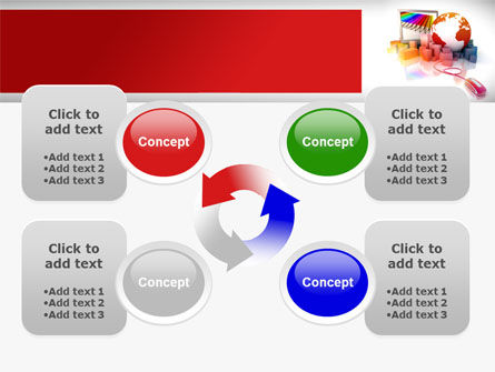 Computer Controlled Delivery PowerPoint Template Slide 9