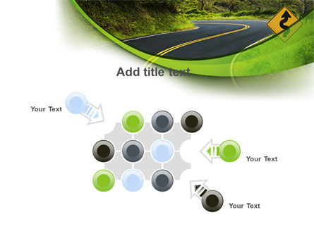 Long And Winding Road PowerPoint Template Slide 10