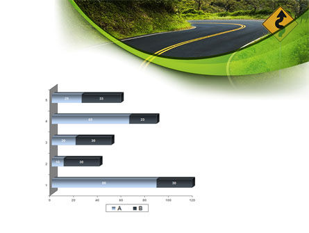 Long And Winding Road PowerPoint Template Slide 11