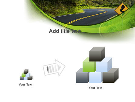 Long And Winding Road PowerPoint Template Slide 13