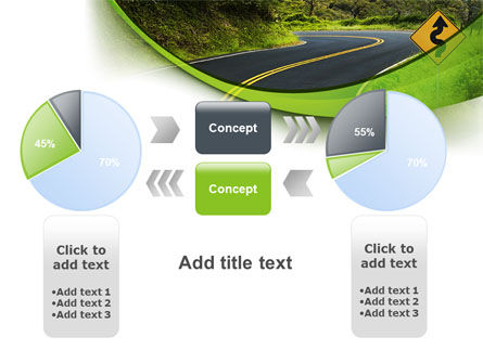 Long And Winding Road PowerPoint Template Slide 16