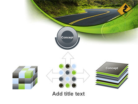 Long And Winding Road PowerPoint Template Slide 19