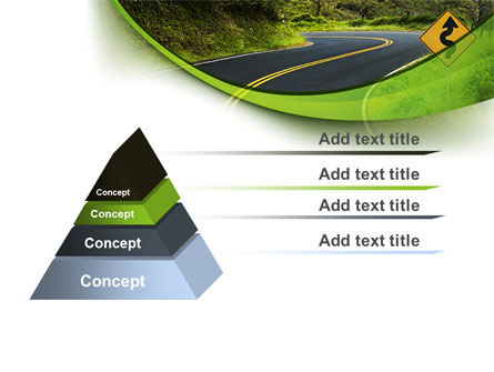 Long And Winding Road PowerPoint Template Slide 4