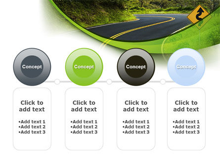 Long And Winding Road PowerPoint Template Slide 5