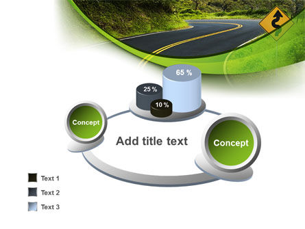 Long And Winding Road PowerPoint Template Slide 6