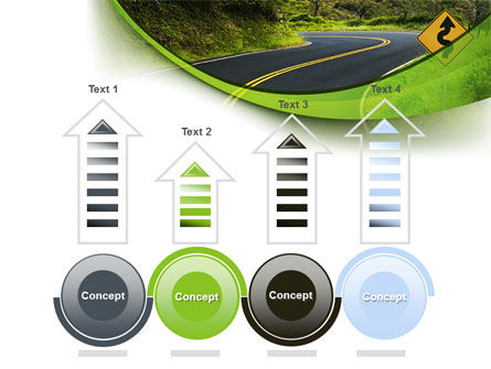 Long And Winding Road PowerPoint Template Slide 7