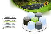 Long And Winding Road PowerPoint Template#12