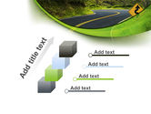 Long And Winding Road PowerPoint Template#14