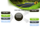 Long And Winding Road PowerPoint Template#15