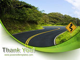 Long And Winding Road PowerPoint Template#20