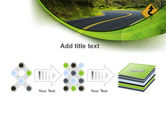 Long And Winding Road PowerPoint Template#9