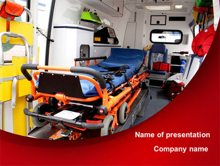 Medical: Templat PowerPoint Reanimobile #08762