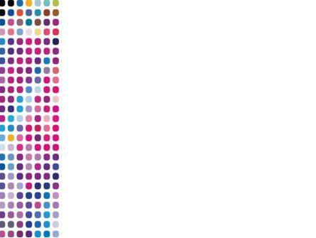 Pixelization PowerPoint Template, Slide 3, 08767, Abstract/Textures — PoweredTemplate.com