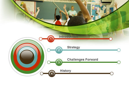 Classroom Education PowerPoint Template, Slide 3, 08768, Education & Training — PoweredTemplate.com