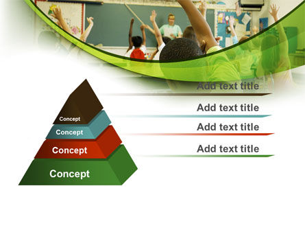 Classroom Education PowerPoint Template, Slide 4, 08768, Education & Training — PoweredTemplate.com