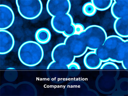 cell biology powerpoint template, backgrounds | 08769, Modern powerpoint