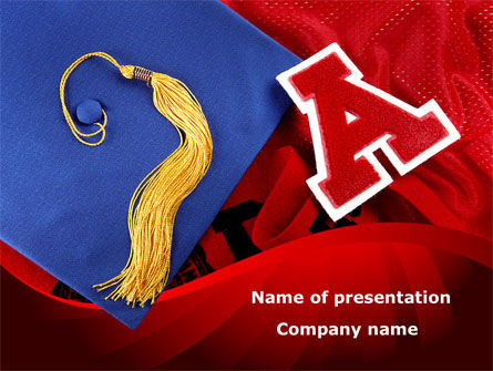 Mortarboard PowerPoint Template