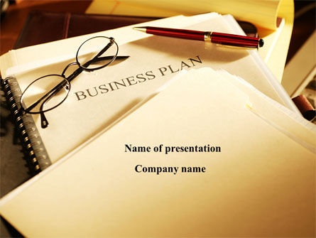 Business Plan Analytic PowerPoint Template, 08773, Business Concepts — PoweredTemplate.com