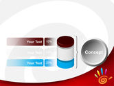 Colorful Palmprint PowerPoint Template#11